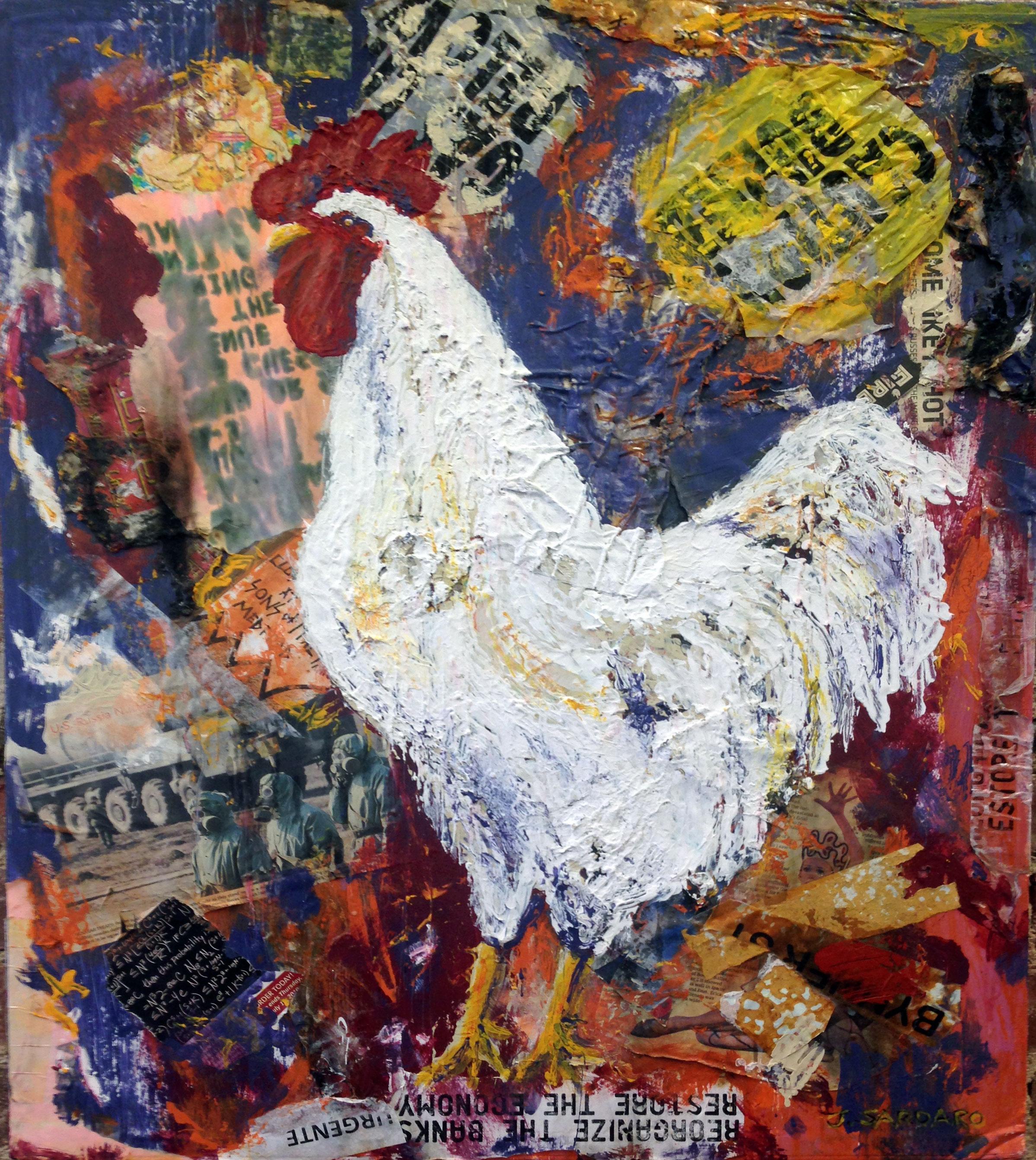 Bio Hazard Rooster