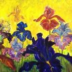 Iris a la Van Gogh