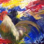 Patriotic Rooster